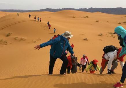 沙漠亲子夏令营