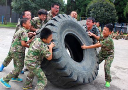 深圳自强军事历练营21天班