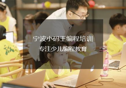 宁波小码王少儿编程新宝5客服班