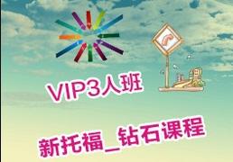 新托福钻石VIP3人班