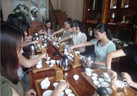 上海茶艺培训班