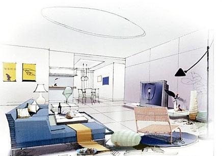 西湖区室内设计培训费用_室内软装设计师基础班