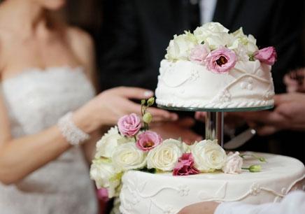 真玫瑰花方形欧式蛋糕图片大全