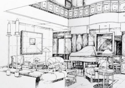 5 苏州手绘室内效果图全程班      课程标签:苏州室内设计手绘培训班