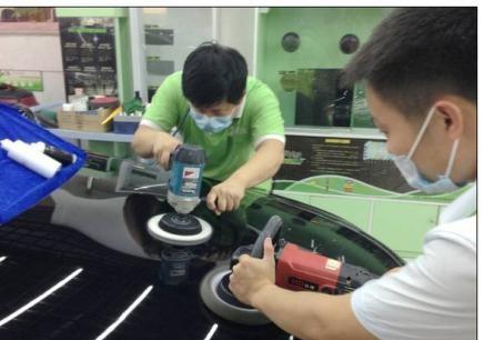 广州汽车美装修复高级技师培训班