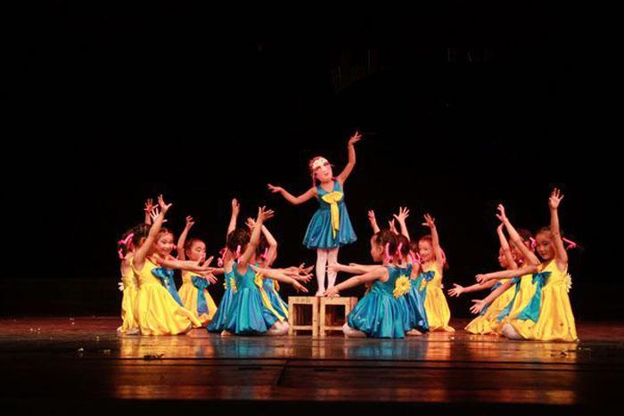 儿童舞蹈基础动作