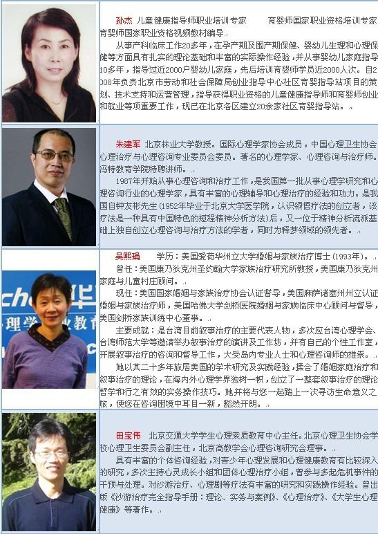 郑州心理咨询师培训班_电话_地址_费用