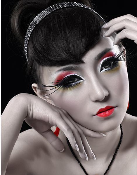 真假发结合的方法与使用技巧,多种新娘抓纱的方法与发型的搭配,不同