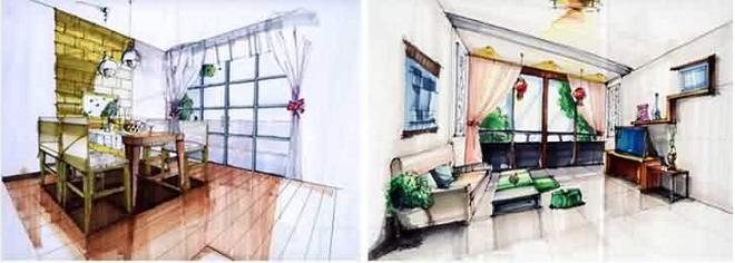 室内设计手绘效果图专业班