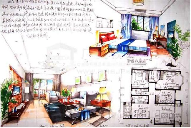 广州室内设计手绘效果图专业班