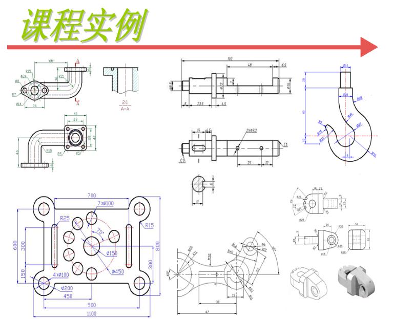 机械零件三维图纸小齐亚图纸帕獾盘微图片
