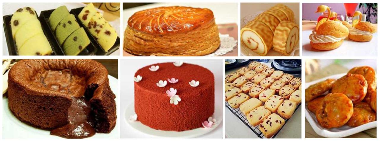 牛油排包,蓝莓物语, 甜甜圈,台式菠萝包,港式菠萝包,毛毛虫面包,辫子