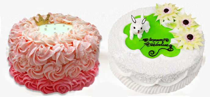 4.各种蛋糕花卉的制作:玫瑰花.太阳花.喇叭花.菊花.百合花.不老菊花.