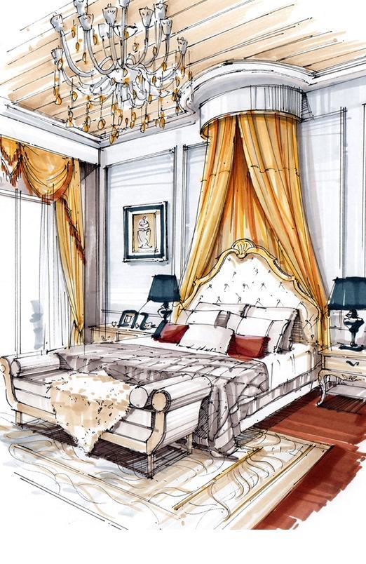 室内设计手绘效果图提高班