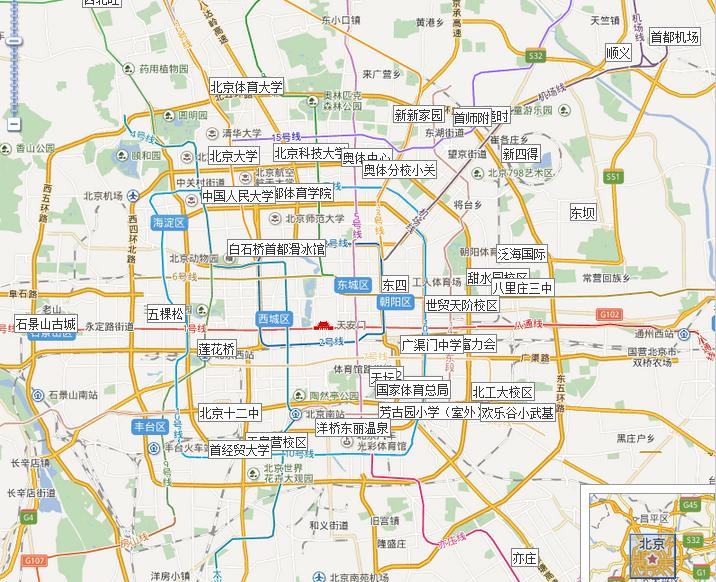 北京篮球培训地址