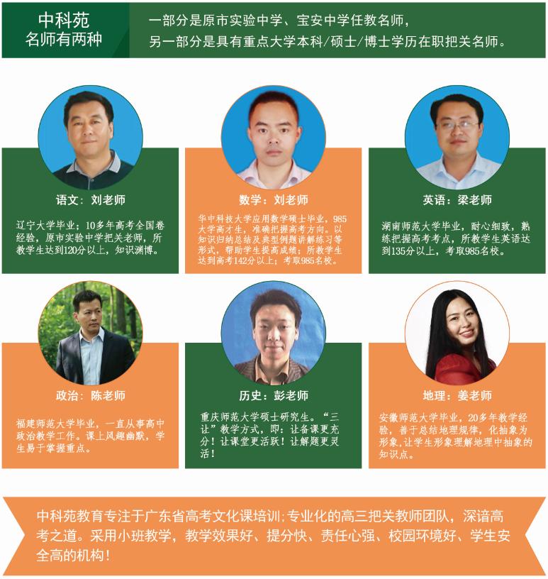 深圳高考复读重点班