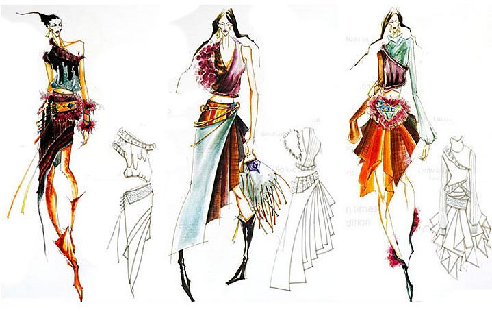 上海手绘服装设计全科班