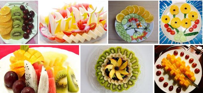 水果拼盘培训图片