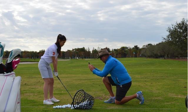 高尔夫学习班