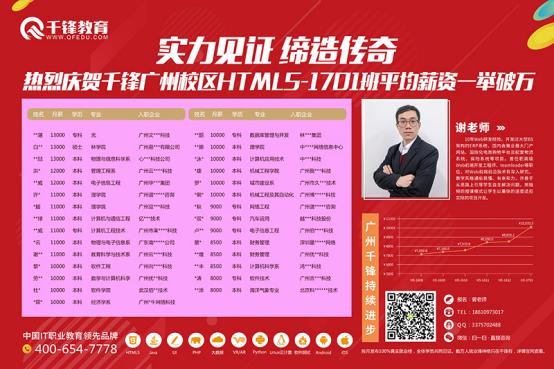 广州HTML5培训