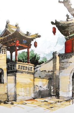 风景 古镇 建筑 旅游 摄影 250_380 竖版 竖屏