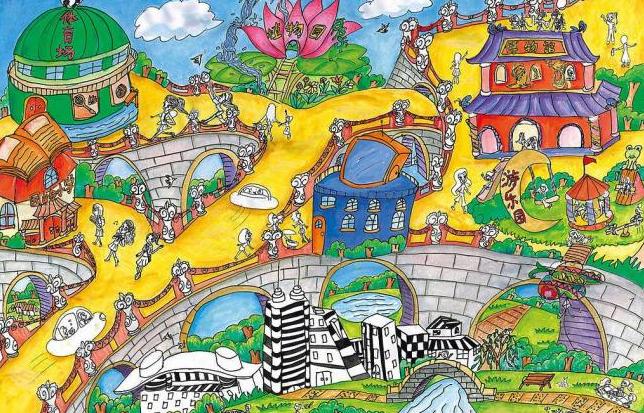 儿童环保绘画设计素材,儿童环保绘画模板下载,儿童环保绘画,儿童,环保,绘画,插画,爱,自然,文化艺术,绘画书法,环保儿童画,设计图库,304dpi,jpg