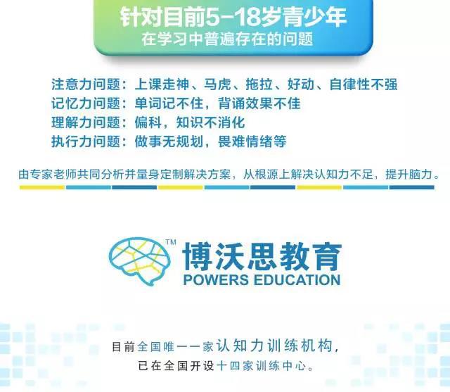 杭州培养孩子注意力集中
