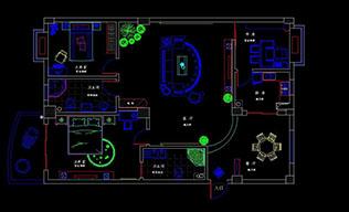 室内设计-CADv空白专业班cad是显示空白特性图片