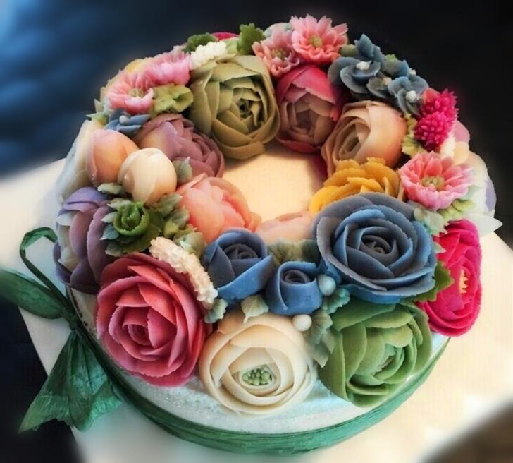 青岛蛋糕裱花培训哪家好_青岛西点烘焙培训班图片