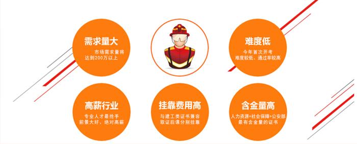 杭州消防工程師培训機構