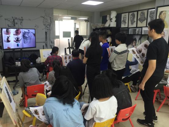 深圳马蒂斯中考美术培训基础班