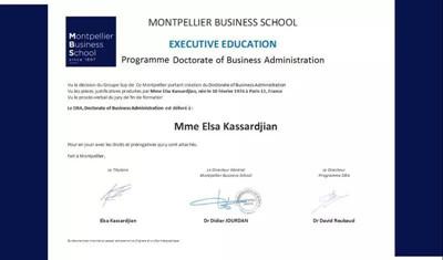 法国蒙彼利埃商学院DBA博士课程