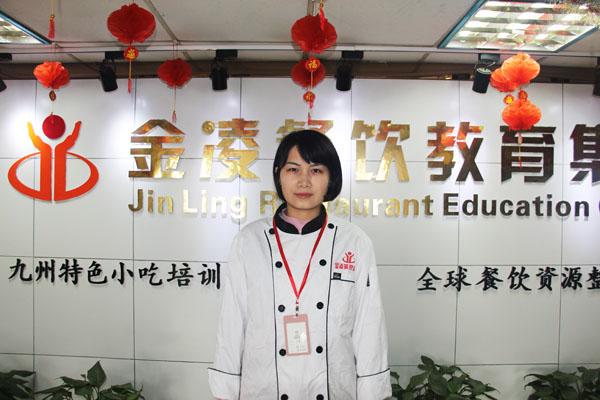 吴海萍-西点裱花班教师