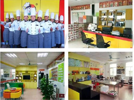 福州食为先厨师培训学员风采