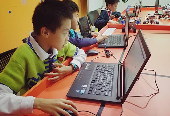 淄博博山区机器人培训学习
