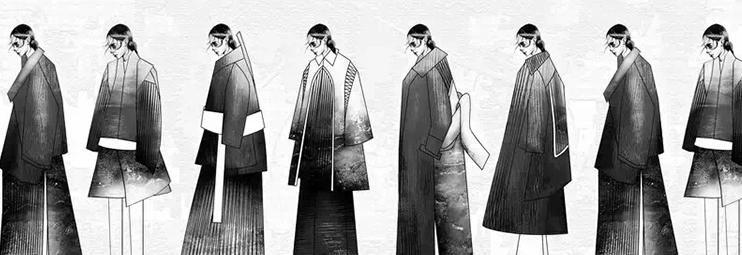 服装设计图片大全 主题系列服装效果图
