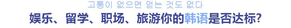 杭州一对一韩语辅导班